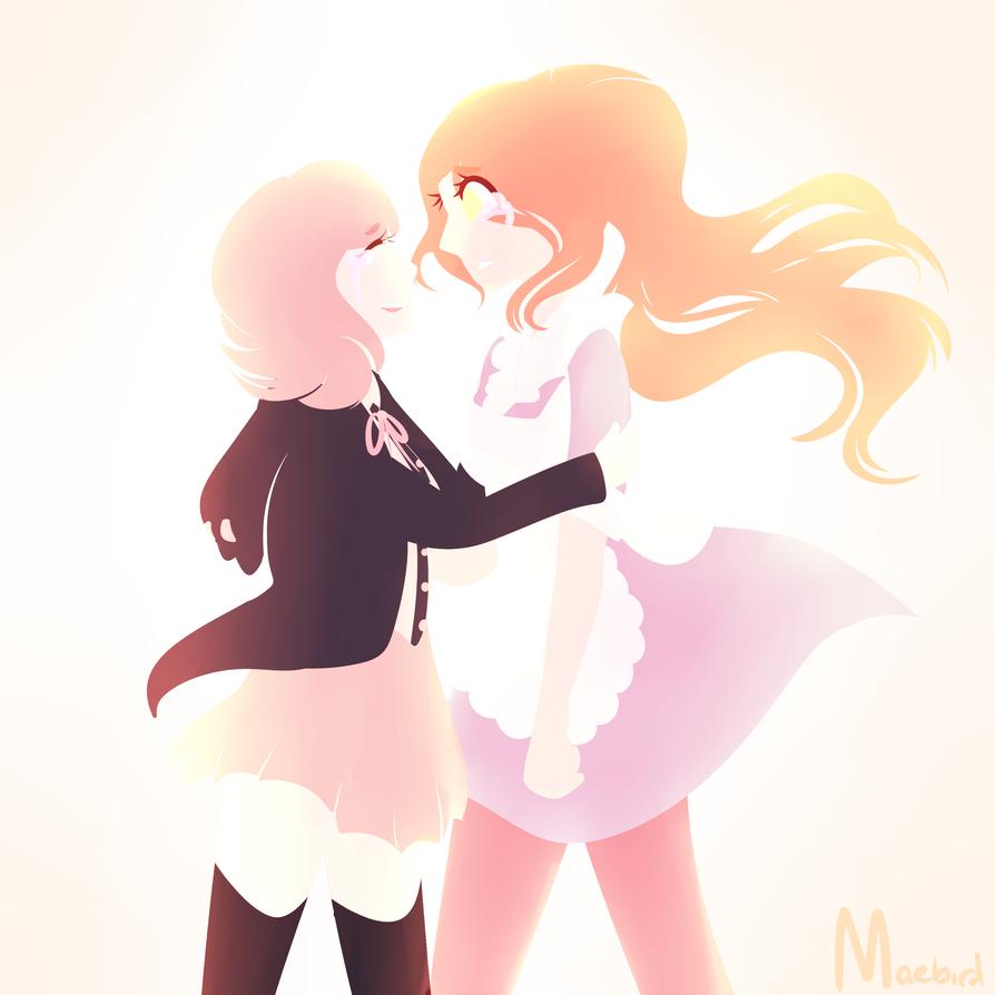 Chiaki and Chisa by maebirdX