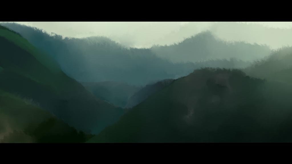 landscape study by maebirdX