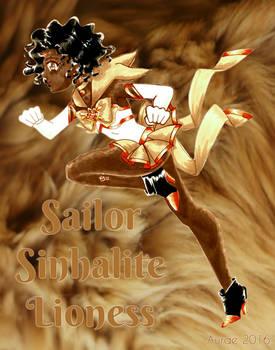 Crystal Animamates: February: Sinhalite Lioness