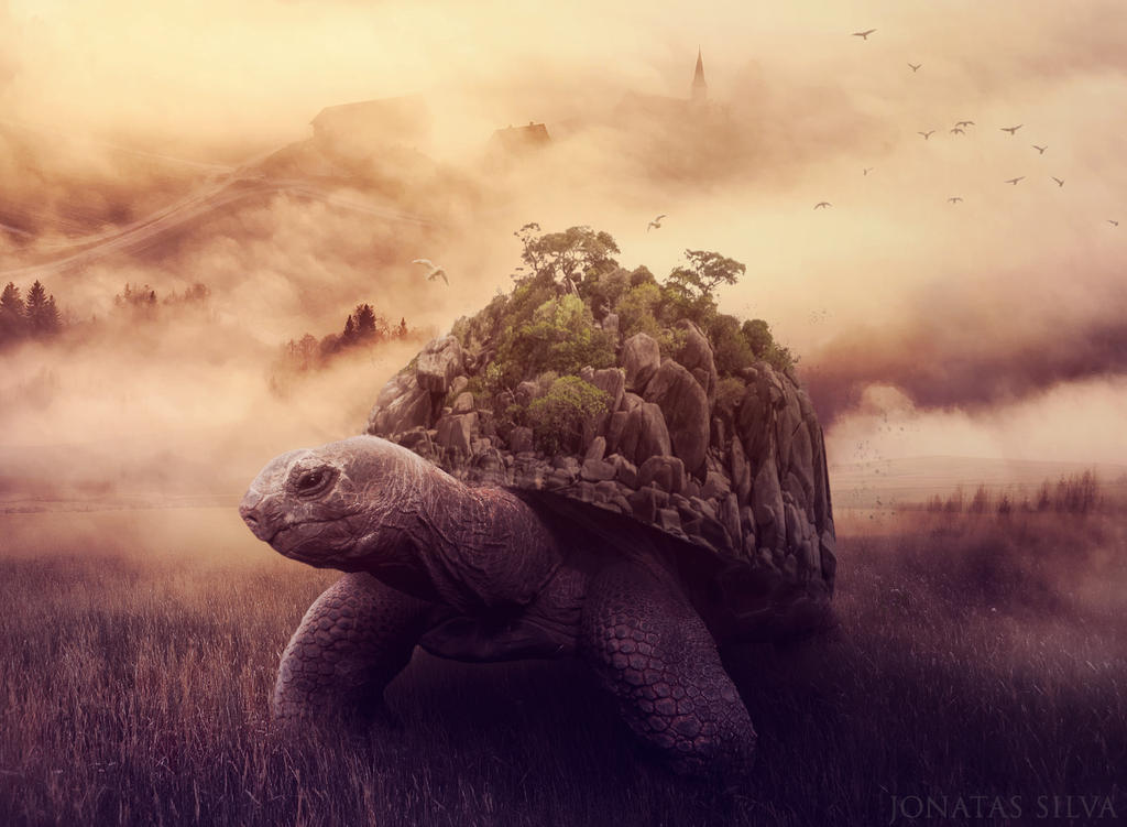 The Big Turtle by JohnSilva2017