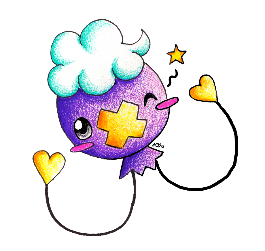 Contest Prize: Chibi Drifloon by KGScribbles
