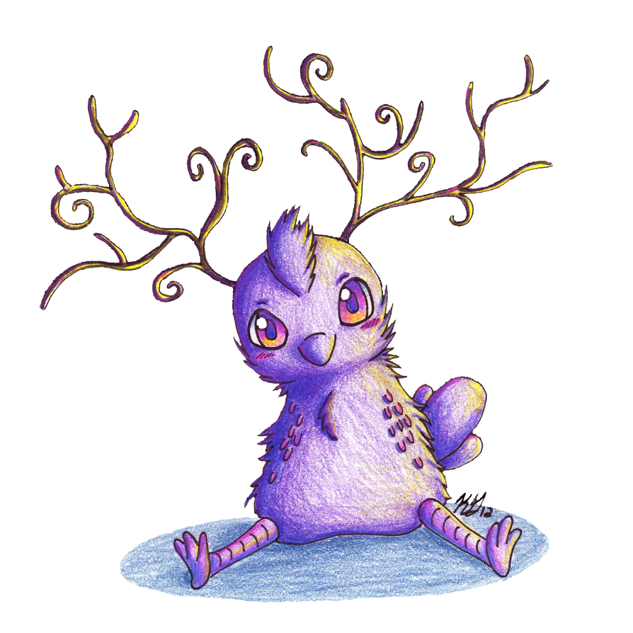 Contest Prize: Chibi Creature by KGScribbles