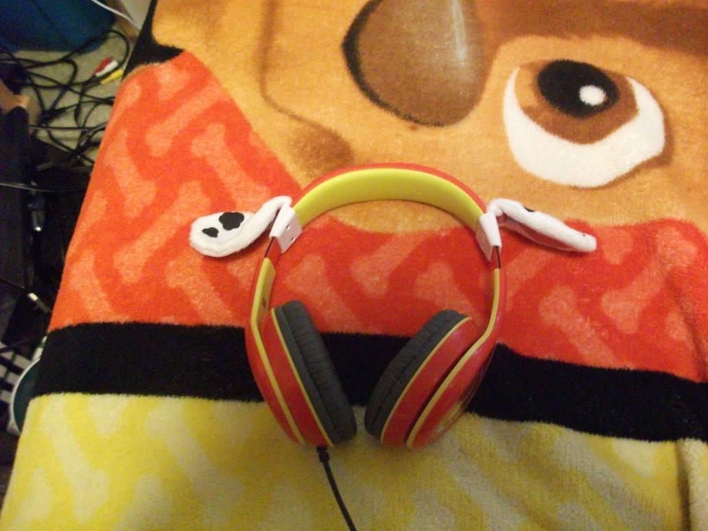 Paw Patrol Marshall Headphones By Grandslayer On Deviantart