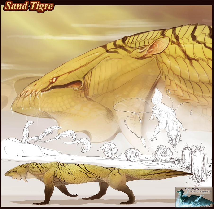 Sand Tigre by Black-Wing24