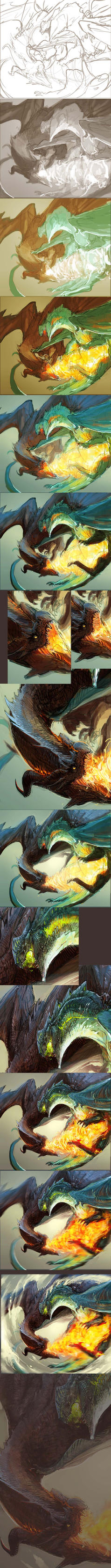 Step by step: Rivalry by Black-Wing24