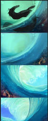 Under The Waves progress by Black-Wing24