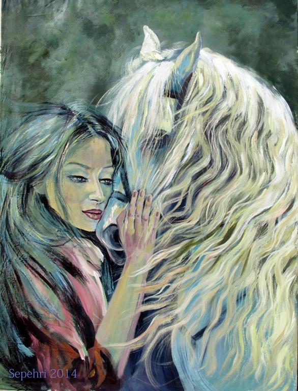 My horse by MOHSENSEPEHRI