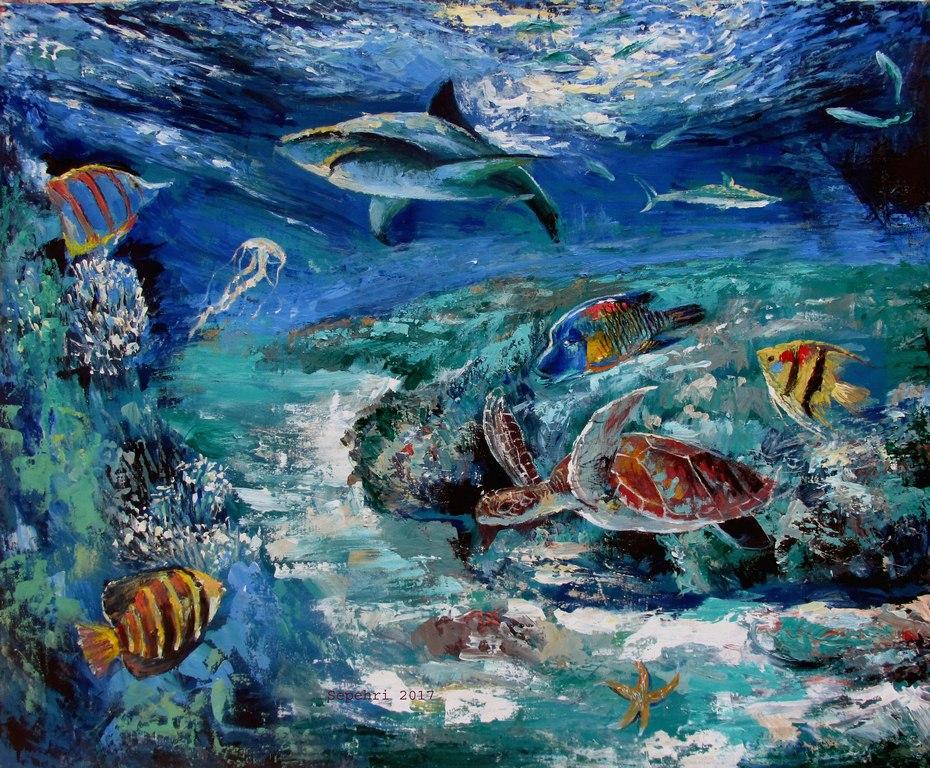 Under sea by MOHSENSEPEHRI