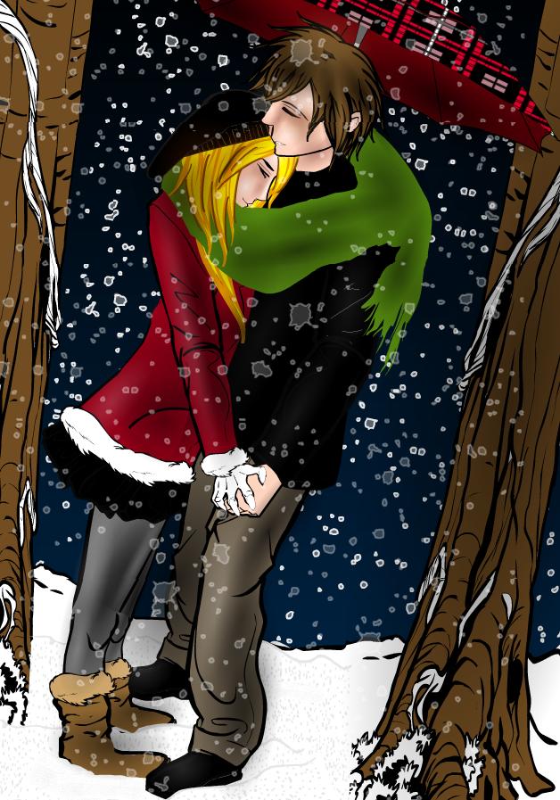 Dance in the snowfall by Tarkarra