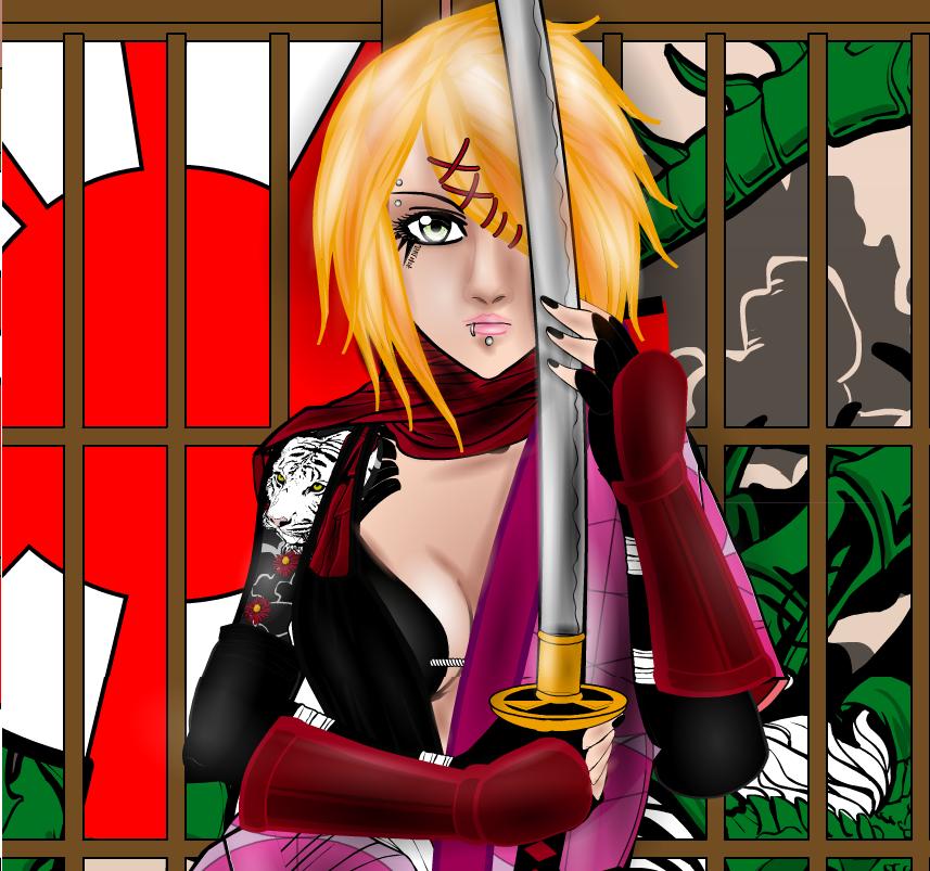 Samurai Blade by Tarkarra