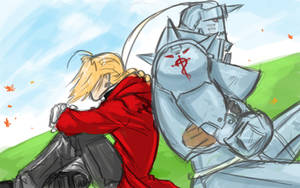 Daily Sketch: Elric Bros by TheWizpir