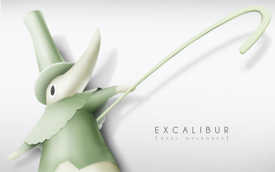 Excalibur Fool Wallpaper