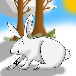 Rad Rabbit by galbeo