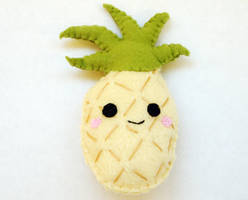 Pineapple Plushie by StrawberryGlitter-14