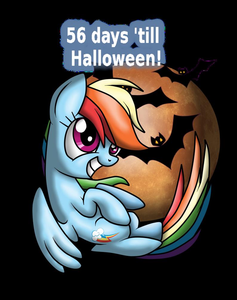 56 days till halloween!rainbowstriked on deviantart