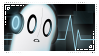 Napstablook stamp2 by RainbowStriked