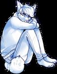 sad anthro dude pose