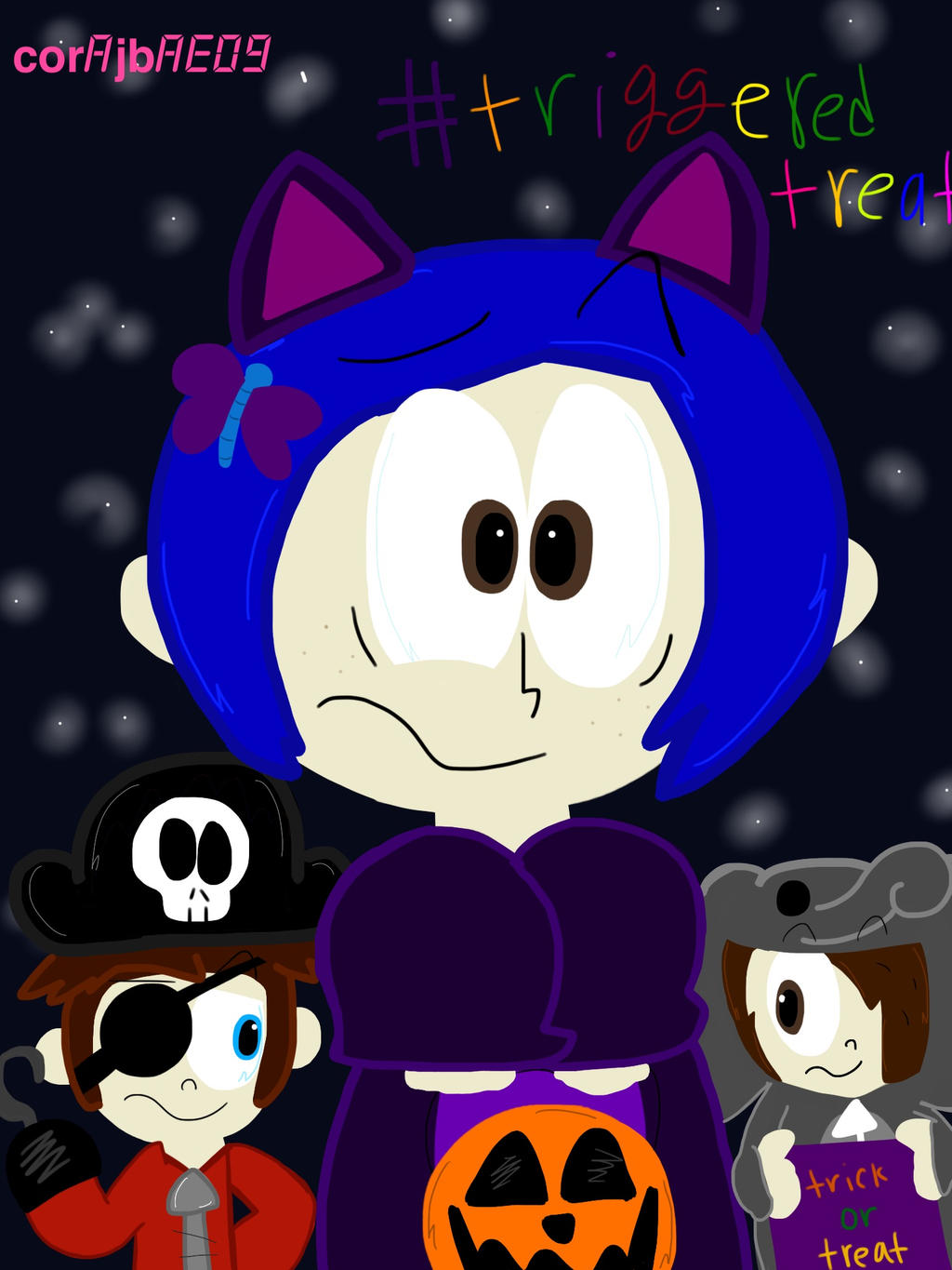 CORALINE IS THE REAL WUSS PUSS~ by corajbae09