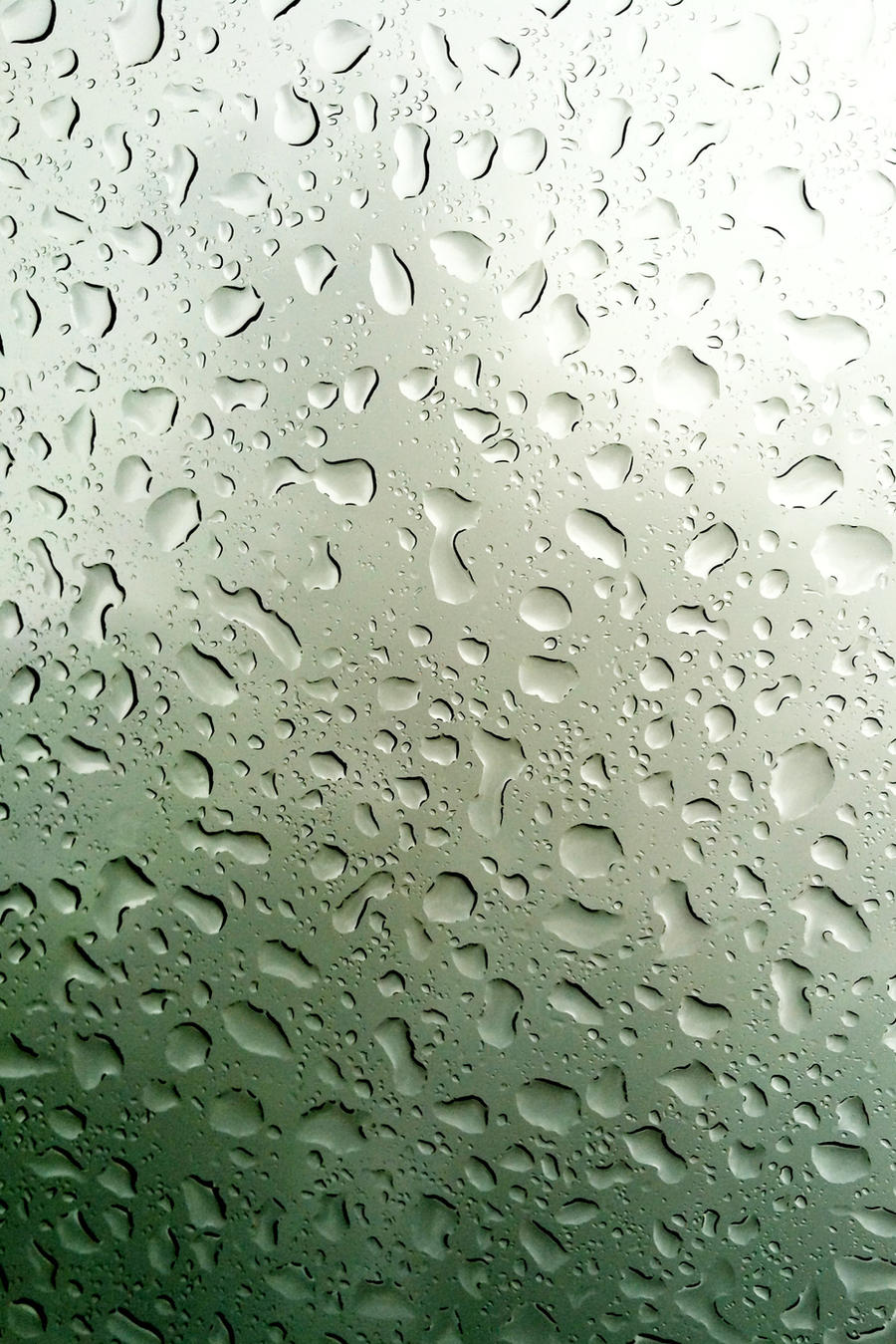 iPhone Wallpaper - Raindrops by clokverkorange