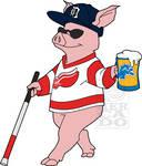 Blind Pig logo/mascot commission