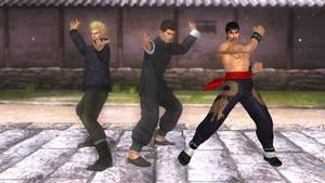 3D Jeet Kun Do Fighters Trio