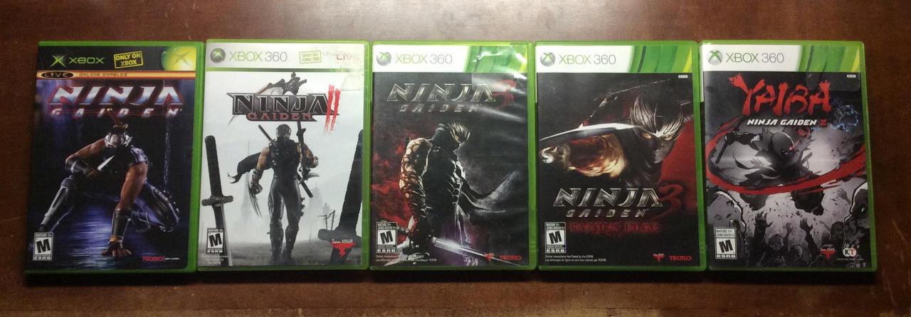 Ninja Gaiden Xbox Collection Update By Avgnjr1985 On Deviantart