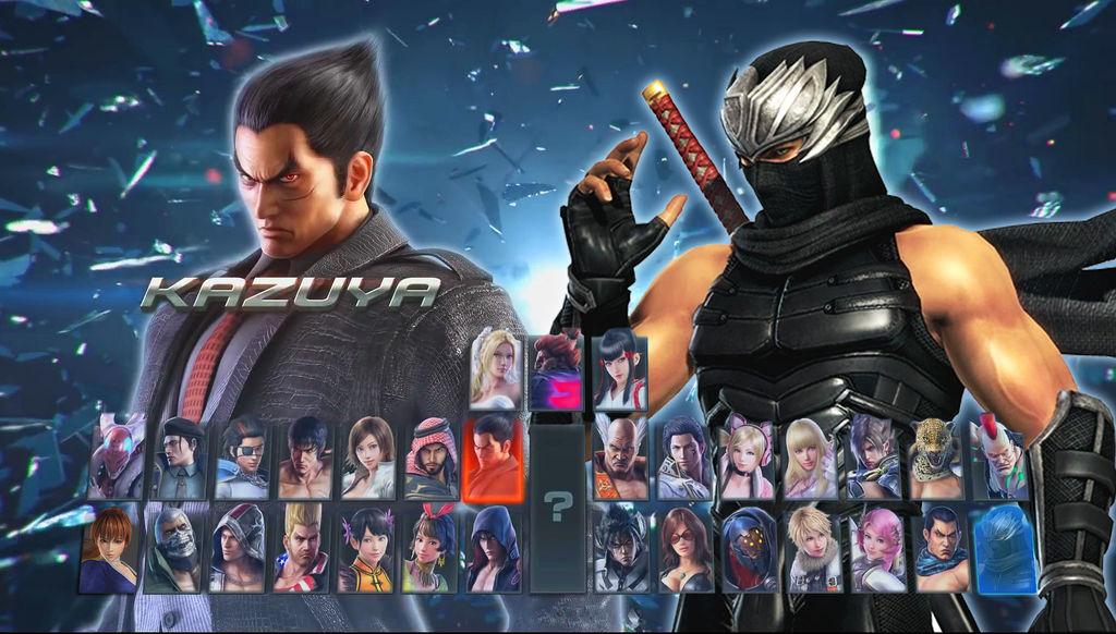 Tekken 7 Character Roster With Ryu Hayabusa By Avgnjr1985 On