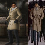 Golgo 13 Comparison between DOA 5 and Anime Film by AVGNJr1985