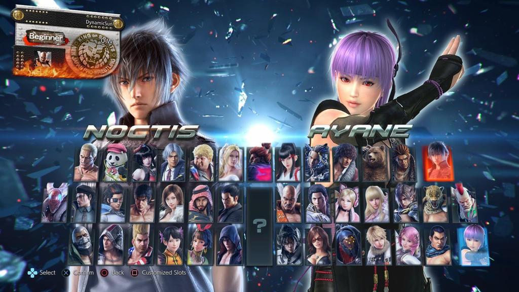 Tekken 7 Character Roster With Ayane By Avgnjr1985 On Deviantart