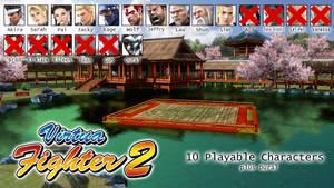 Virtua Fighter Character List - VF2