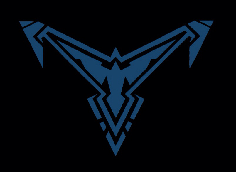 Night Wallpaper No Logo By Ualgreymon On Deviantart: Nightwing Logo Redesign 2 (coloured) By Guiltyspark0343 On