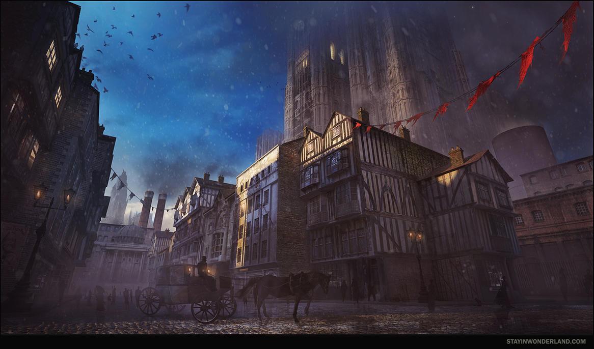 Victorian Street Concept by stayinwonderland