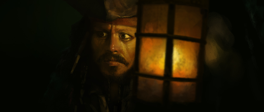 Movie Study - Pirates of the Caribbean: Jack by stayinwonderland