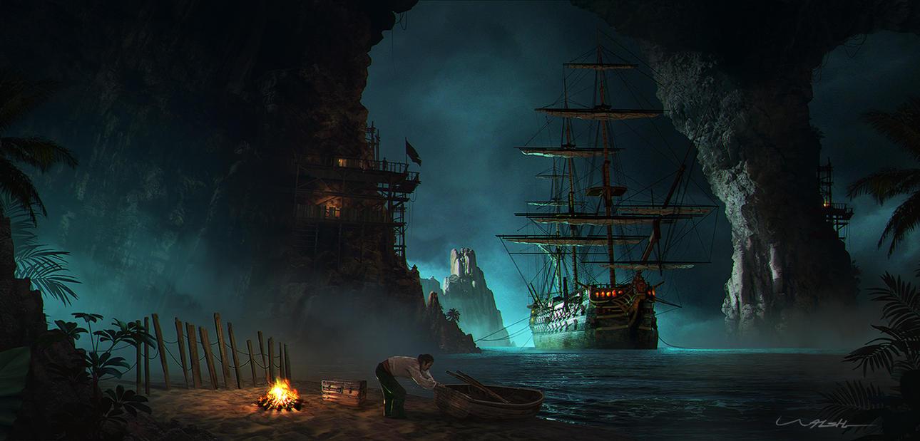 Pirate Cove by stayinwonderland