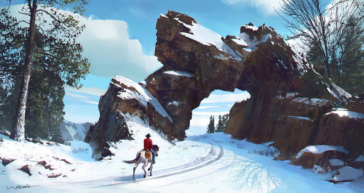 Snow Rider by stayinwonderland