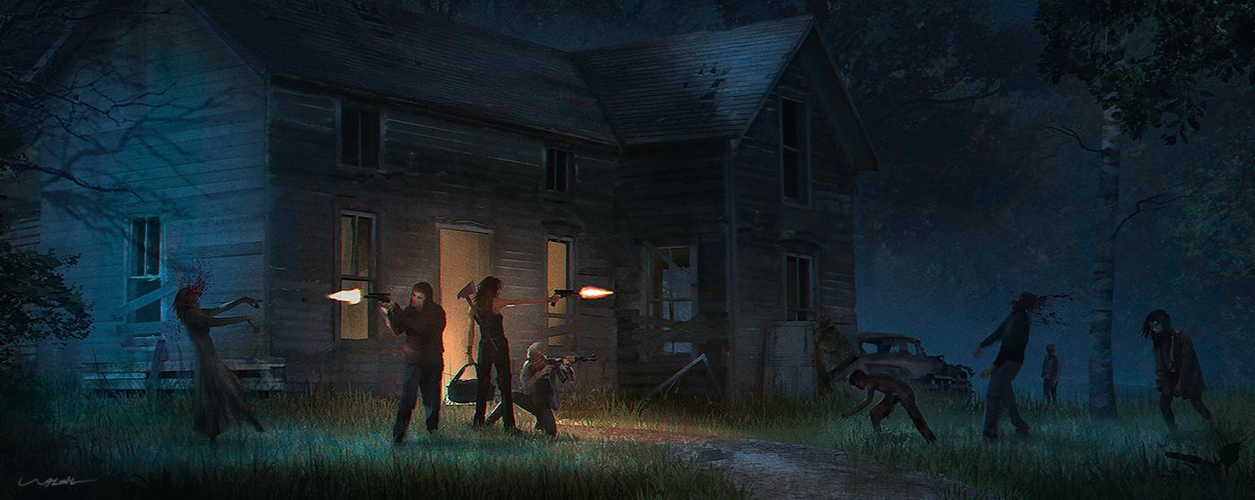 Zurvival League - Zombie Survival Game art #1