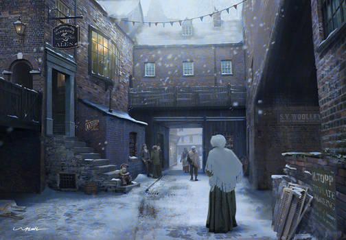 Victorian Alley - Winter