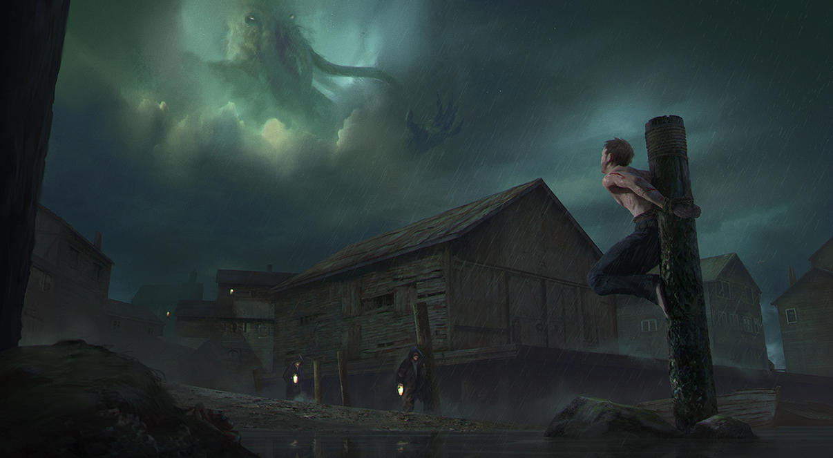 Offering To Cthulhu by stayinwonderland