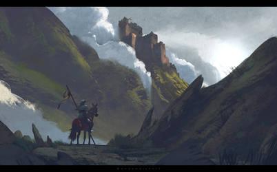 Medieval Wales by stayinwonderland