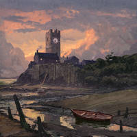 Cthulhu Diary - The Estuary at Low Tide