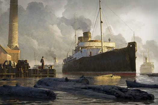 Cthulhu Diary - Southampton Docks