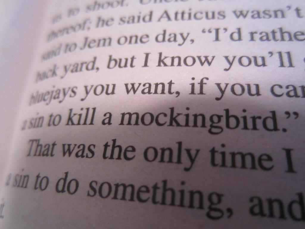 To Kill A Mockingbird by JCHSALEM