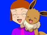 Me with Eevee