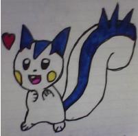 Pachirisu drawing by SusanLucarioFan16