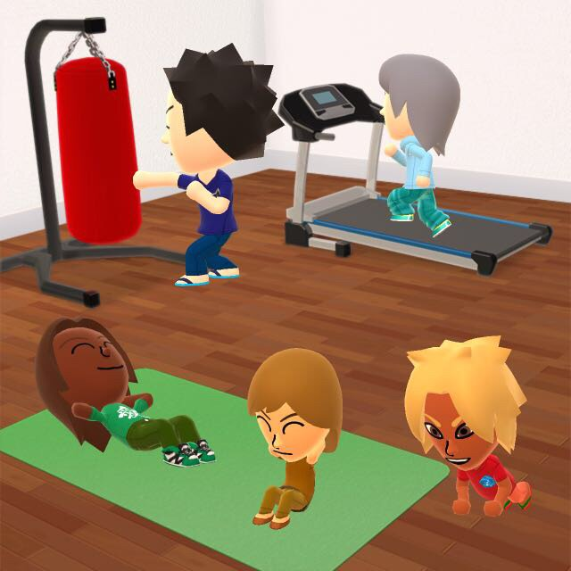 Training for the Rankings test miitomo by SusanLucarioFan16