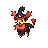 Shiny Delcatty as a witch by SusanLucarioFan16