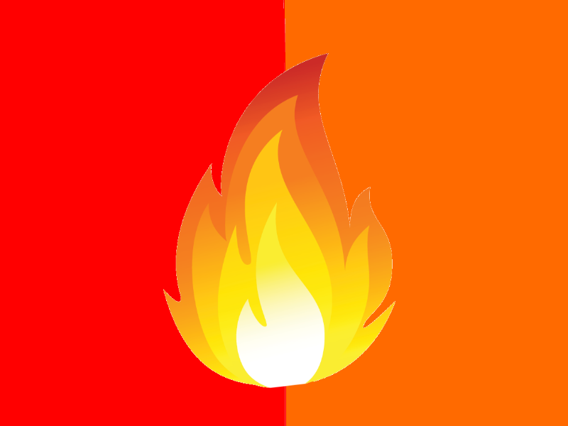 The Fire Phoenix Nation flag by SusanLucarioFan16