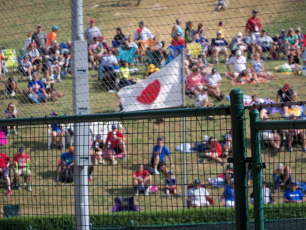 Japan flag at Little League by SusanLucarioFan16
