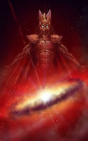 Asuryan the Creator by AquaMarine--A-M-Ink