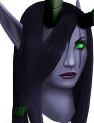 Dreadlord Jaina portrait